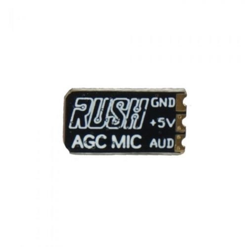 RUSH AGC MIC Micrófono 5V DC para RUSH TANK Mini FPV Transmisor VTX