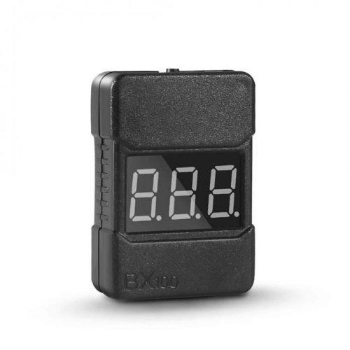 Probador de voltaje de batería Lipo BX100 1-8 S/alarma de vibración de bajo voltaje