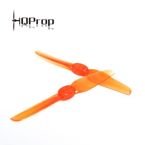HQ Durable Prop T65MM (5CW+5CCW)-Poly Carbonate(naranja)