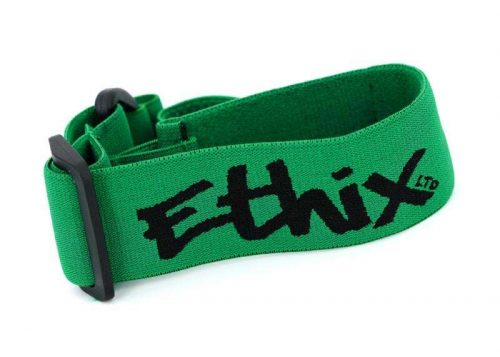ETHIX GOGGLE STRAP V3 BLACK LOGO