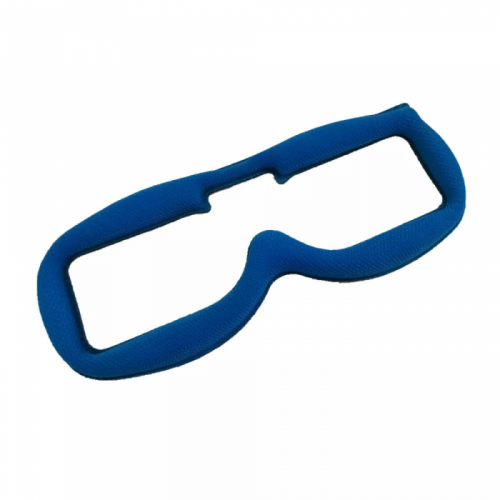URUAV Faceplate esponja en Lycra para Fatshark (azul)