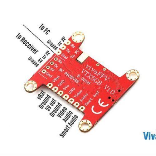 VIVAFPV 25/100/400/600MW VTX SMARTAUDIO 2.1