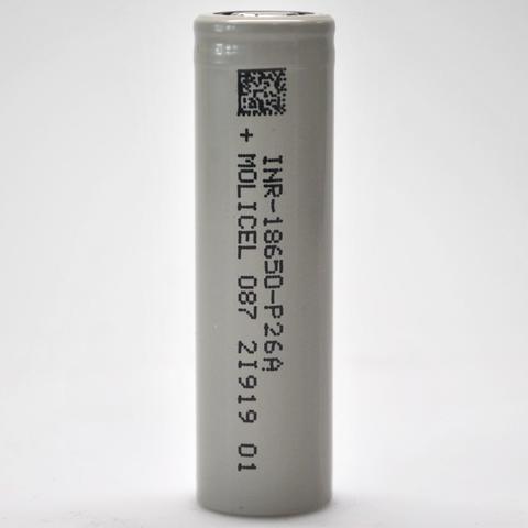 Molicel P26A 18650 2600mAh 35A Lithium Ion ( 1 unidad)