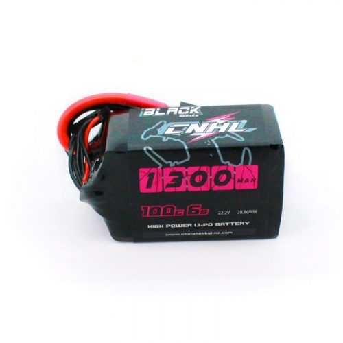 1300mAh 22.2V 6S 100C Lipo Battery CNHL