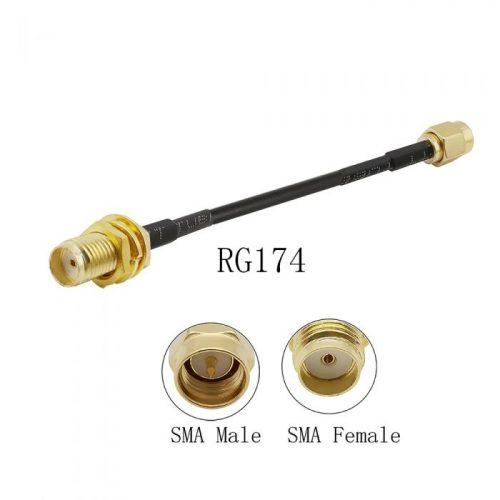 Cable Extension SMA macho a SMA hembra