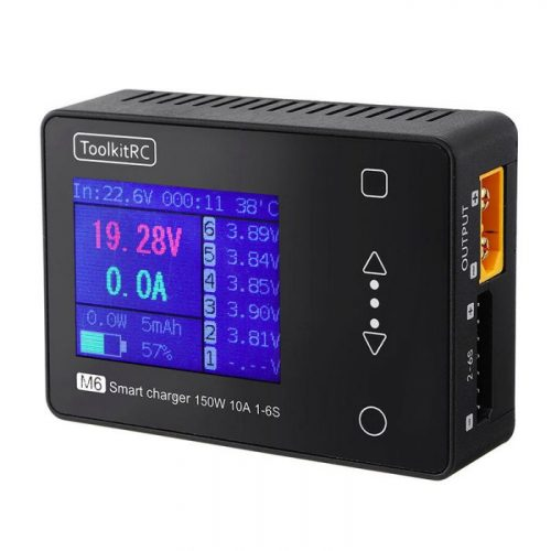 ToolkitRC M6 Battery Balance Charger 150W 10A DC Output for 1-6S